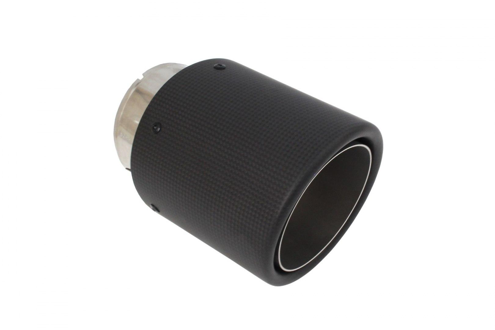 Końcówka tłumika 114mm wejście 76mm Carbon - GRUBYGARAGE - Sklep Tuningowy